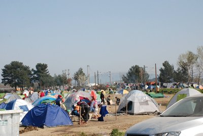 Humanitarians in Greece remain committed to improving the well-being of refugees by leading relief efforts in four camps