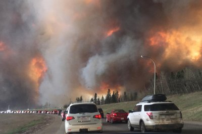 Adventist leader offers prayers for families affected by Fort McMurray wildfire