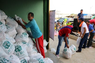 Adventist humanitarians deliever 52 tons of aid to drought-stricken region of Colombia