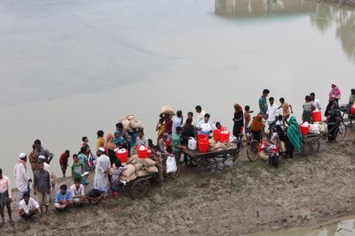 ADRA assists 9,000 families after flooding in Bangladesh