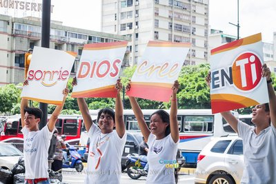 In Venezuela, Adventists share hope and kindness in more than 50 cities