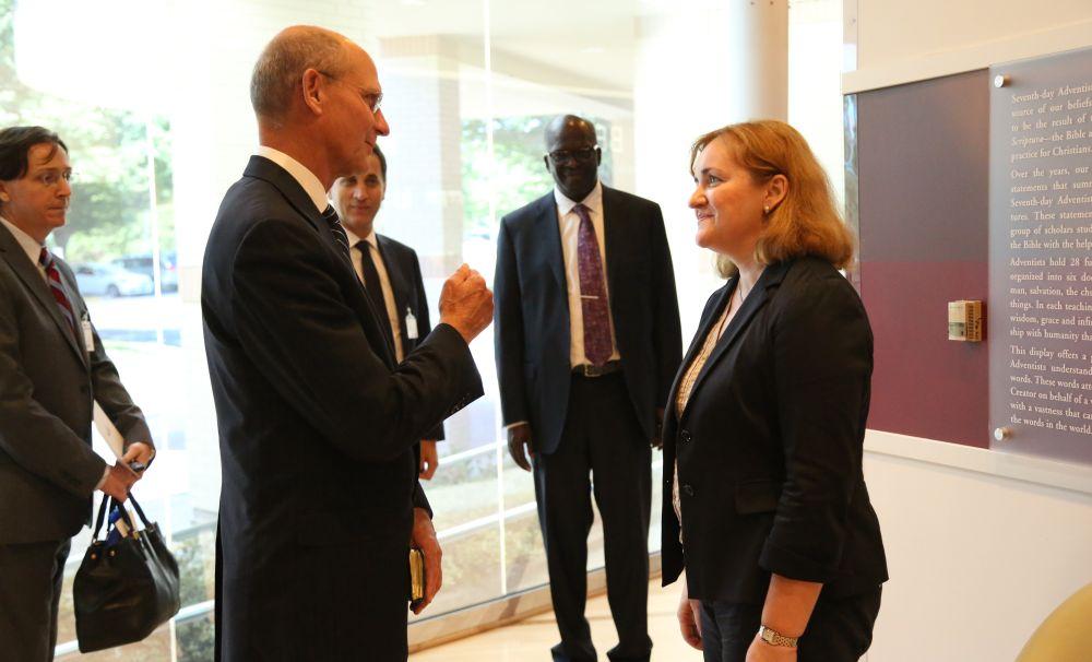UN Secretary-General Candidate Praises Adventist Outreach Efforts