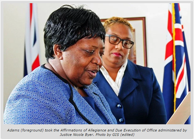 Adventist is appointed as deputy governor of the British Virgin Islands