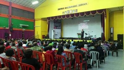 Health and family seminair in Malaysia exemplifies Total Member Involvement