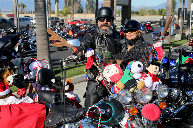 Bikers Deliver Thousands of Toys to Loma Linda University Childrens Hospital