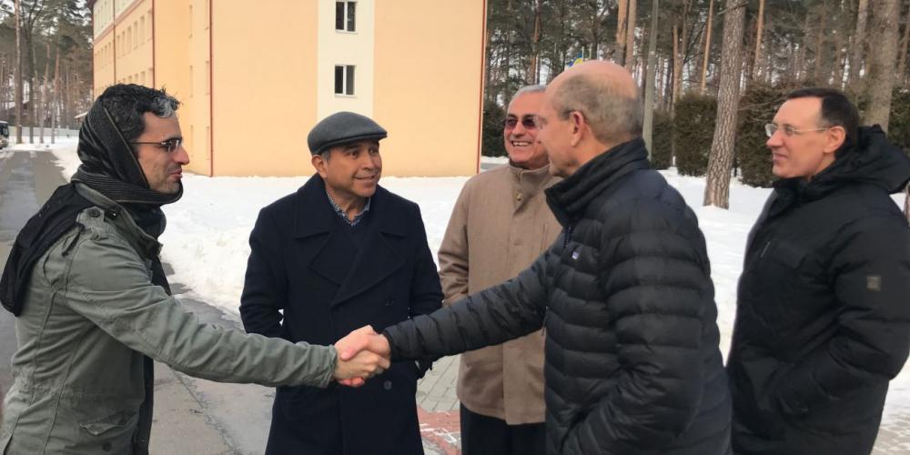 Outreach Effort Launches in Ukraine, former Soviet Union