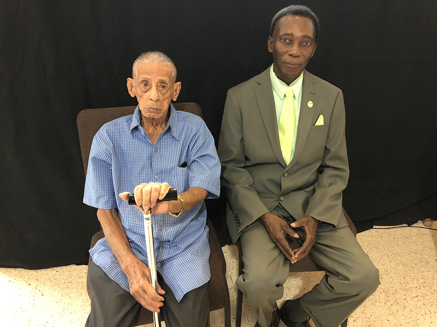 Adventist Review Online | In Puerto Rico, 103-Year-Old Gives His Life to Jesus and Is Baptized