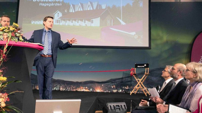 Opera singer's mansion turned into Adventist TV studio in Sweden :: Adventist News Network