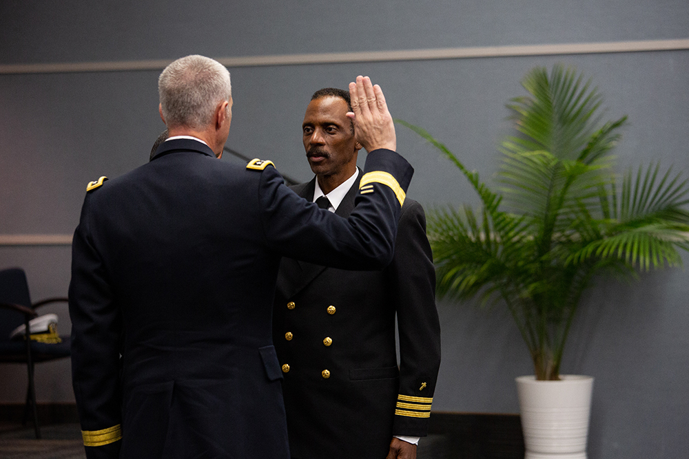 Adventist Review Online | Adventist Chaplain Promoted to Captain in the U.S. Navy Reserve