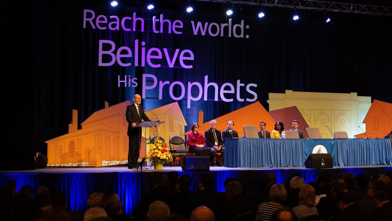 Seventh-day Adventist World Church president Ted N.C. Wilson thanks church members for their prayers after the 2018 Annual Council. :: Adventist News Network